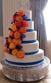 Wedding Inspirations: Bright Complimentary Color Scheme: Red, Orange, Yellow, and Royal Blue