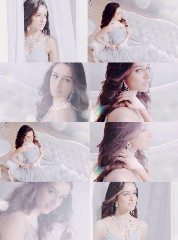 Shraddha Kapoor for Nirvana Dimond jewellery ad