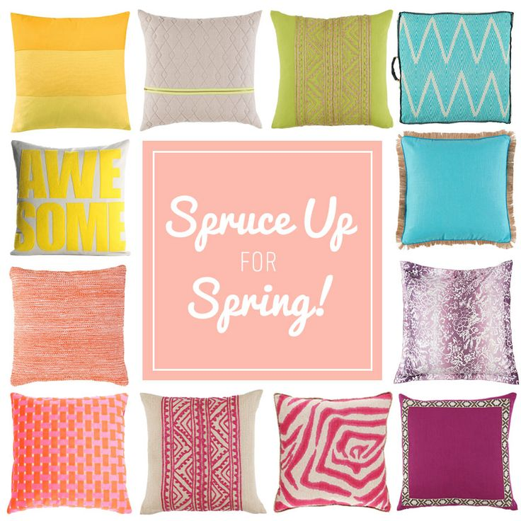 Well, hello there Spring. #springdecor #springcolors