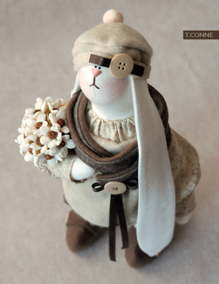 331 best T. CONNE images on Pinterest   Fabric dolls, Handmade ...