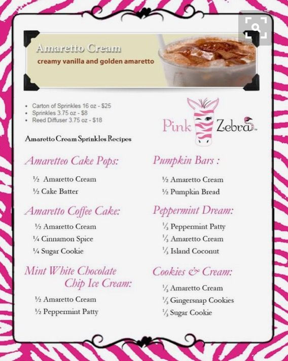 84 best pink zebra recipes cards images on pinterest recipe cards recipes pink zebra sprinkles zebras cooking baby business image ideas forumfinder Gallery