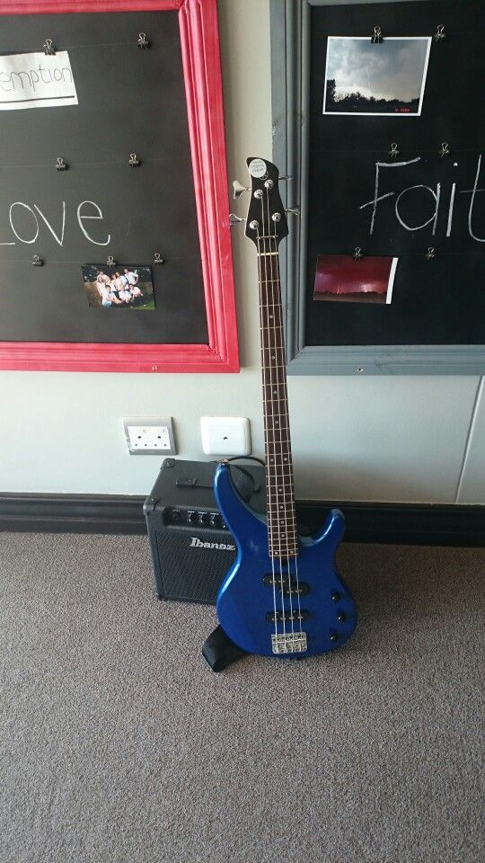 New Yamaha bass guitar TRBX 174