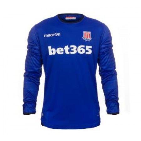 #Stoke City 16-17 Målmand Hjemmebanesæt Lange ærmer,245,14KR,shirtshopservice@gmail.com