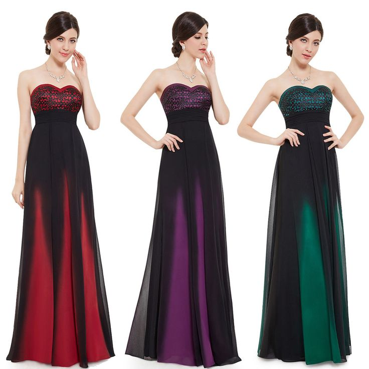 Ever Pretty New Red Carpet Chiffon Long Evening Formal Party Dresses 08070
