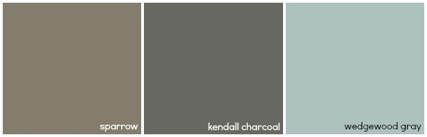 Bathroom Paint Color Ideas - Brighten a Beige Bathroom - Good Housekeeping - WEDGEWOOD GRAY - BENJAMIN MOORE
