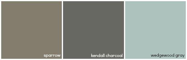 Bathroom Paint Color Ideas - Brighten a Beige Bathroom - Good Housekeeping - WEDGEWOOD GRAY - BENJAMIN MOORE