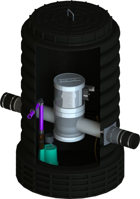 Greyflow PRO. Whole of home Greywater diversion system