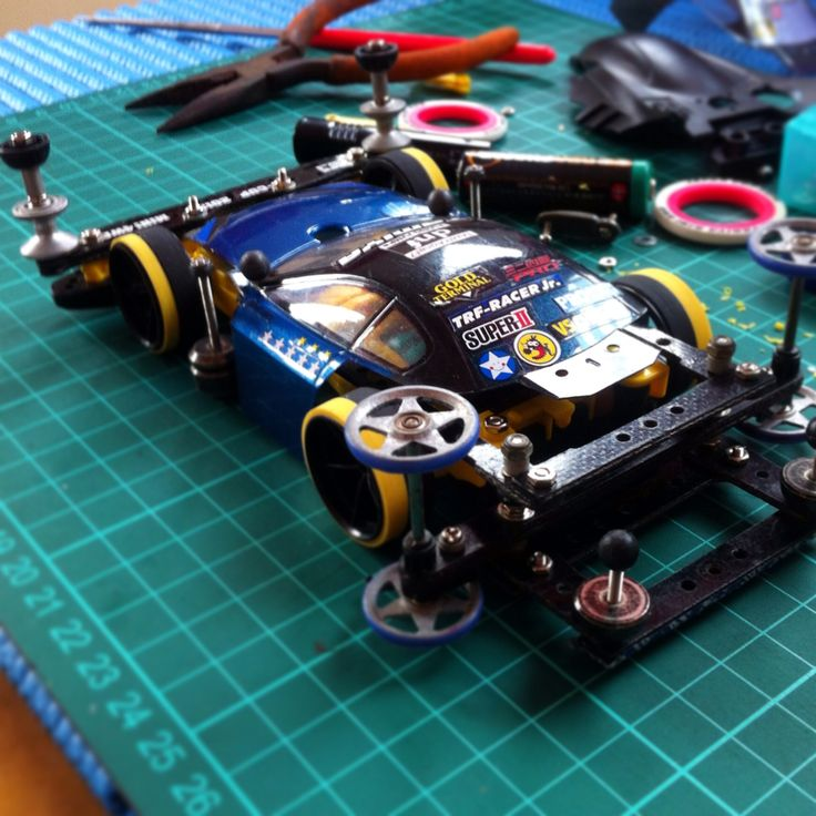 Tamiya mini4wd trf.jr