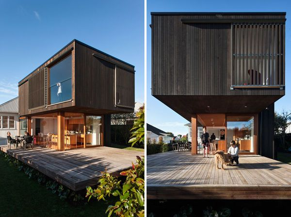 Crosson Clarke Carnachan Architects Designs A House With Rectangular Themes  #nature #architecture Trendhunter.