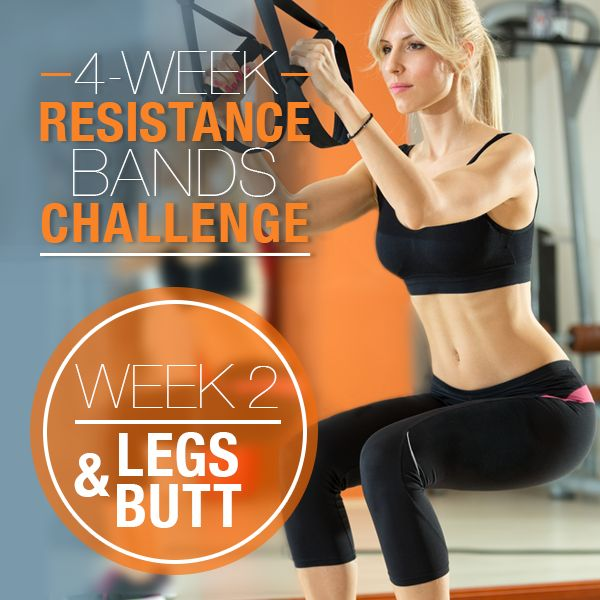 This week we're focusing on tightening that butt and toning those sexy legs.This legs and butt workout is Part II of our 4-Week Resistance Bands Challenge.