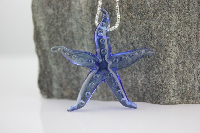 'Cobalt Blue Starfish ' is going up for auction at 1pm Sat, Sep 22 with a starting bid of $10.