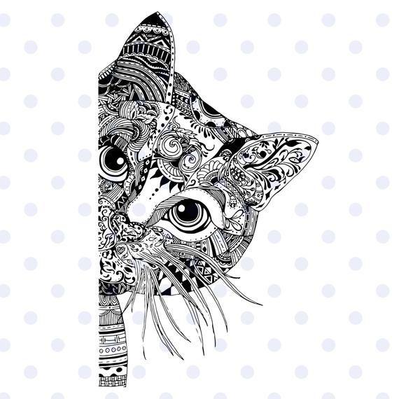 80+ Svg Mandala Cat – SVG Bundles