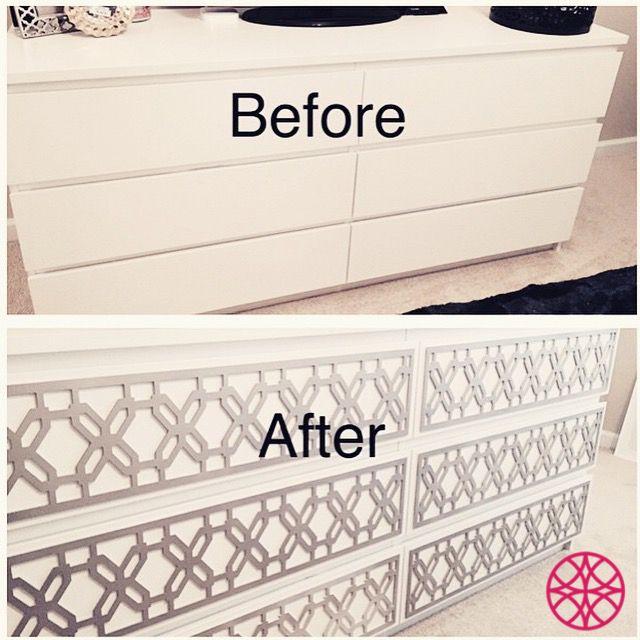 17 best images about o 39 verlays and other ikeahacks on pinterest furniture ikea dresser hack. Black Bedroom Furniture Sets. Home Design Ideas