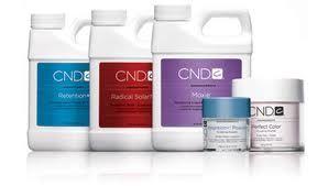 CND Acrylic line