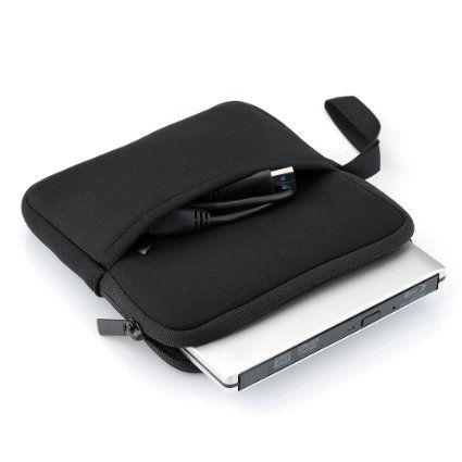 Amazon.co.jp: Setom収納ケース DVDドライブ/ケーブル用別収納タイプ 耐振動・耐衝撃・耐圧 小物収納ポケット付き (ブラック): パソコン・周辺機器