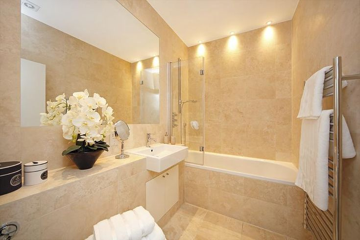 photo of beige bathroom