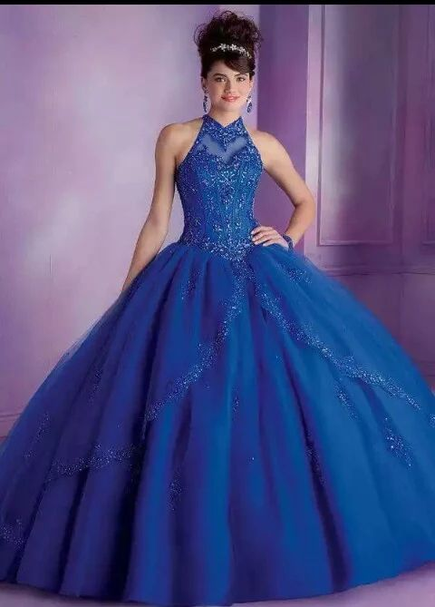 864e3b99ad9 Quinceanera dresses by Vizcaya 89001 Tulle Quinceanera Dress with  Embroidery and Beading Sweep Train. Corset Tie Back. Colors Available   Champagne Aqua