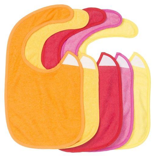 Conjunto 5 Babetes Velcro Menina - Zy Baby - Continente Online