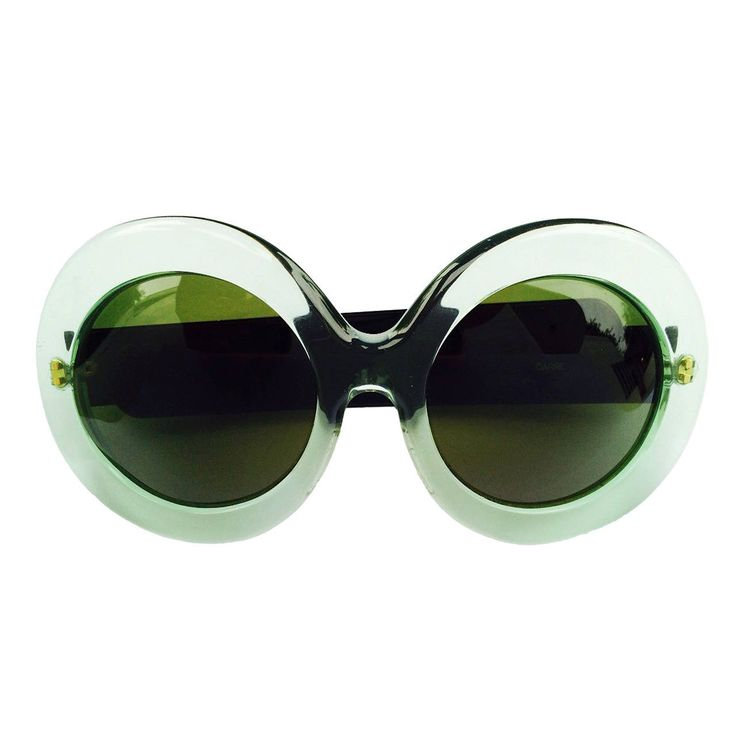 Oversize Lucite Sunglasses 1970s | From a collection of rare vintage sunglasses at https://www.1stdibs.com/fashion/accessories/sunglasses/
