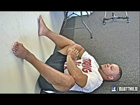 Stretches to help a deeper squat. (Olympic lifts in general)