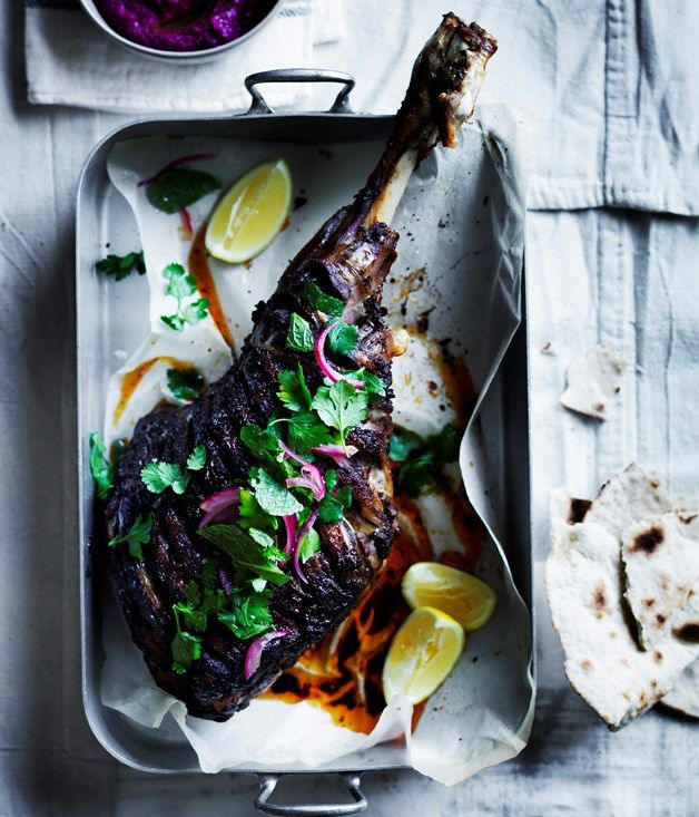 For an exotic twist on the traditional lamb roast, our Shawarma-spiced leg with beetroot sauce adds an authentic share dish for the whole table.