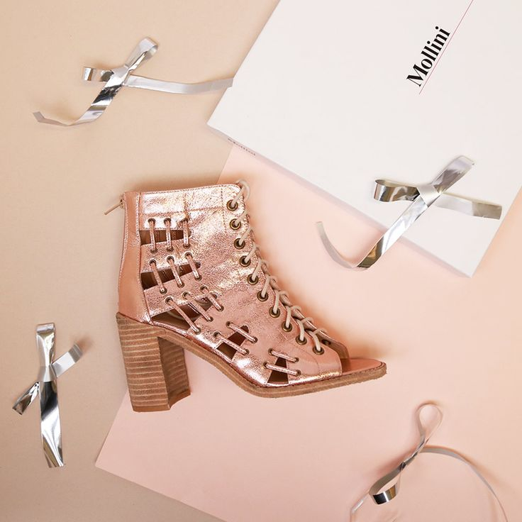 Jayman-rose gold by Mollini