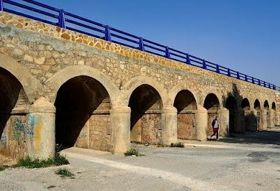 Bridge on N-332 near La Zenia, Orihuela Costa