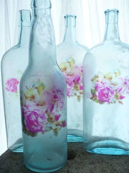 552 Best Images About Beautifully Decorated Bottles On