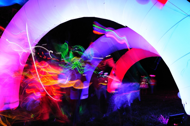 Glow Runners, electric run