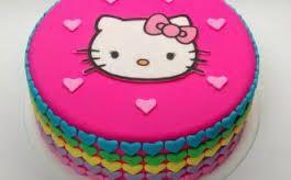 Resultado de imagen para tortas de kitty imagenes