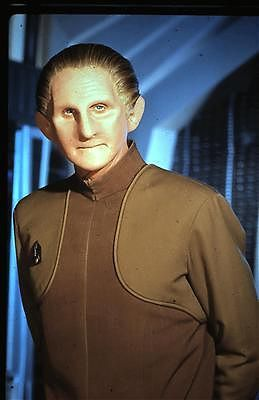 Security Chief Odo from Star Trek Deep Space Nine.