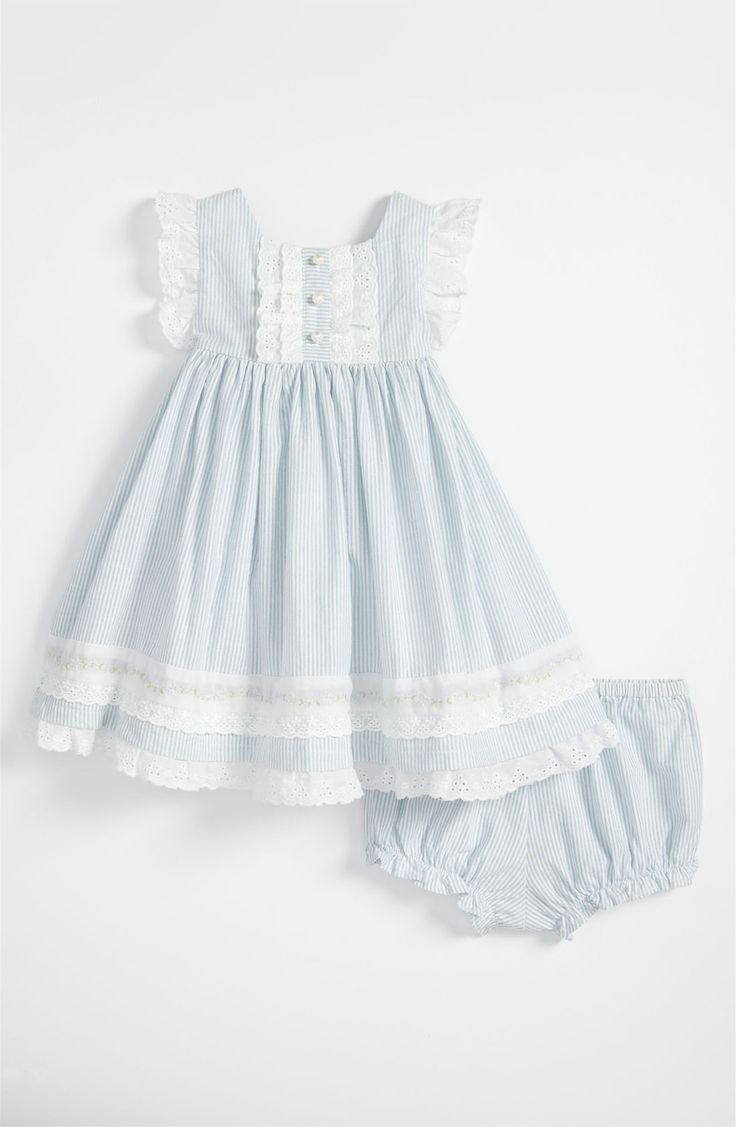 Main Image - Laura Ashley Woven Dress (Infant)
