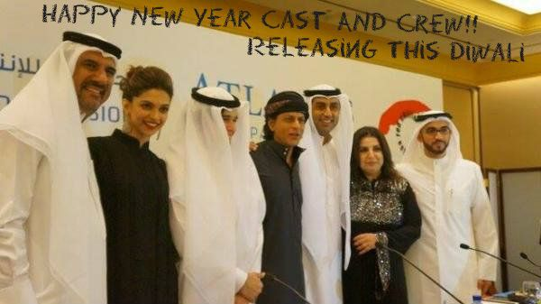 Sharukh Khan Happy New Year Cast and Crew