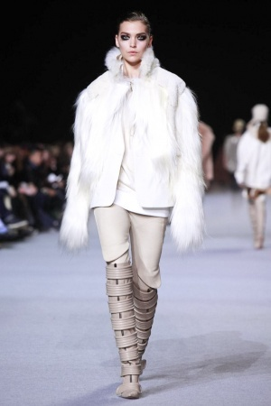 FIRST LOOK: Kanye West's Second Dw Runway Show During Fall 2012 Paris Fashion Week (PHOTOS)