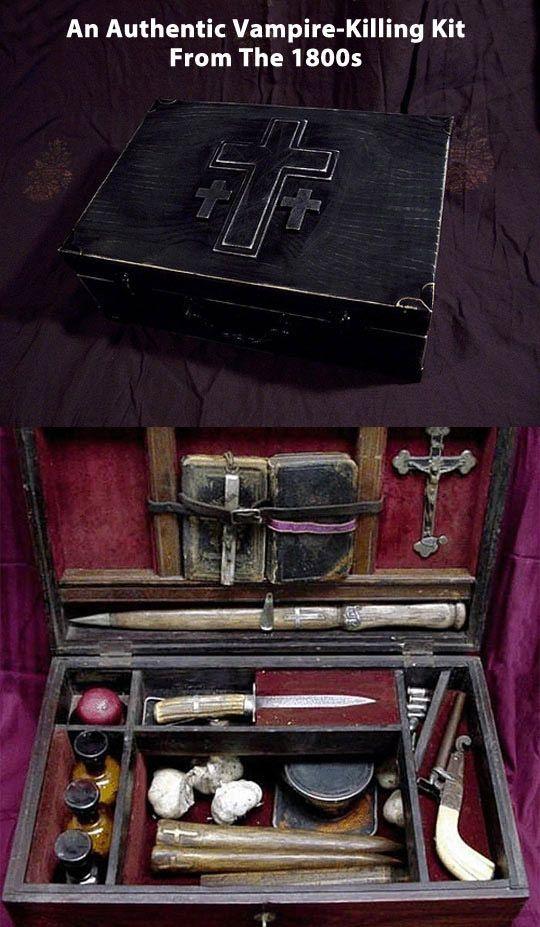 Real vampire kit...
