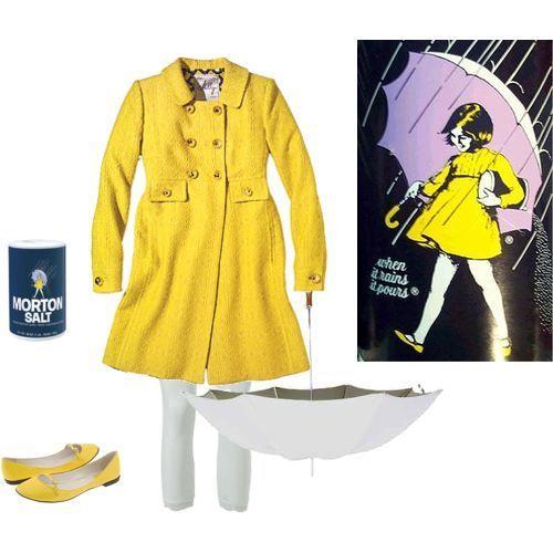 How adorable! The Morton Salt girl! #Halloween: Halloweencostumes, Girl Costumes, Girls, Girl Halloween Costumes, Halloween Idea, Halloween Costume Ideas, Salt Girl, Morton Salt, Salts