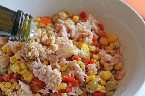 Ensalada de lentejas de verano www.cocinandoentreolivos.com (5)