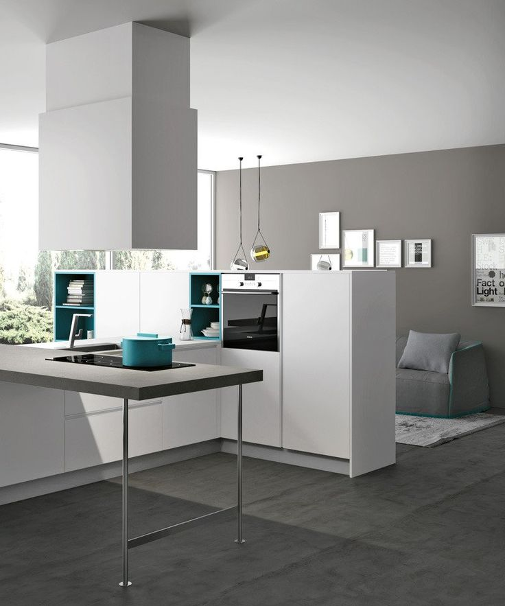 13 best open - kitchens images on pinterest | open kitchens ... - Cucina Febal Light La Qualita Accessibile