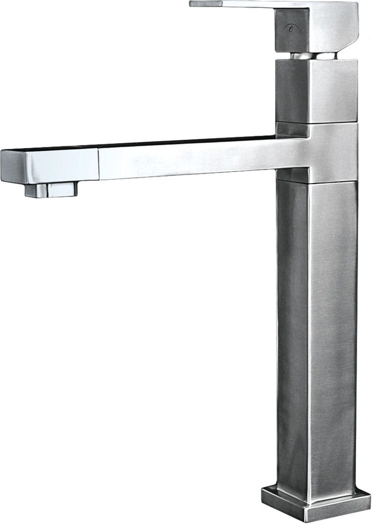 Eclipse Stainless® Grifería Serie One Piece Modelo EH-49.  100% Acero Inoxidable.  Eclipse Stainless® Kitchen Faucet Mod. EH-49. 100% Stainless Steel. www.eclipsestainless.com.mx