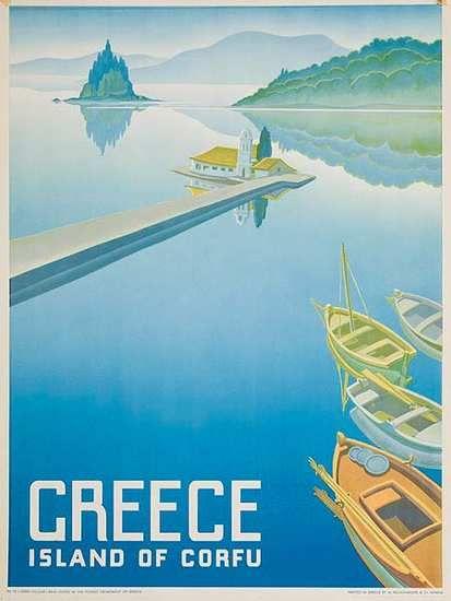 Island of Corfu, Greece