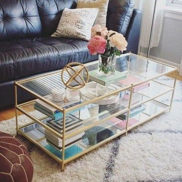 30+ Amazing Glass Coffee Tables Ideas