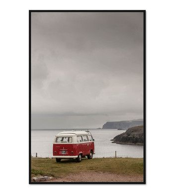 Retro campervan in Scotland. Now available Www.paperempire.com.au