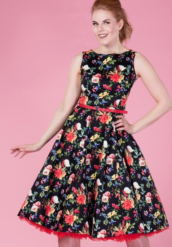 Summer Floral Hepburn Kukkamekko  2737118961