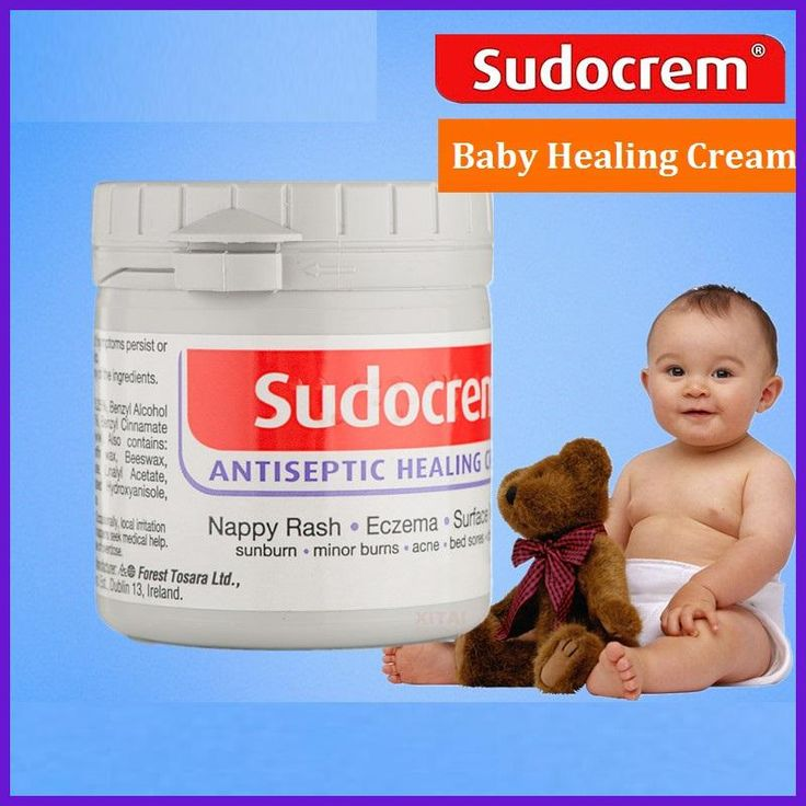 Sudocrem Healing Cream for Baby skin problem Nappy Rash Eczema Wound Scratches Dermatitis Cuts Chafing Bites Abrasions treatment