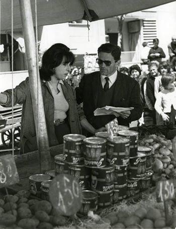 Anna Magnani & Pier Paolo Pasolini