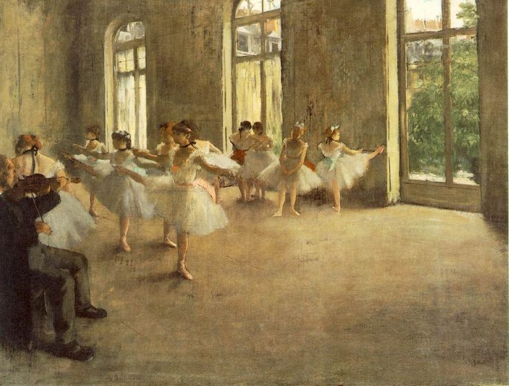 Degas - The rehearsal c 1873-78