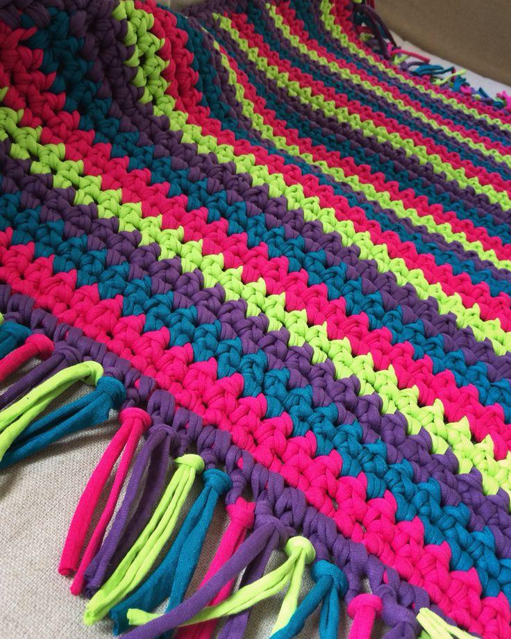 Crochet rug 50cm  35€