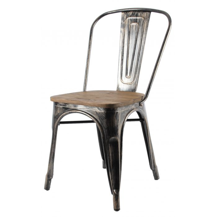 Lost Antika Metal Sandalye