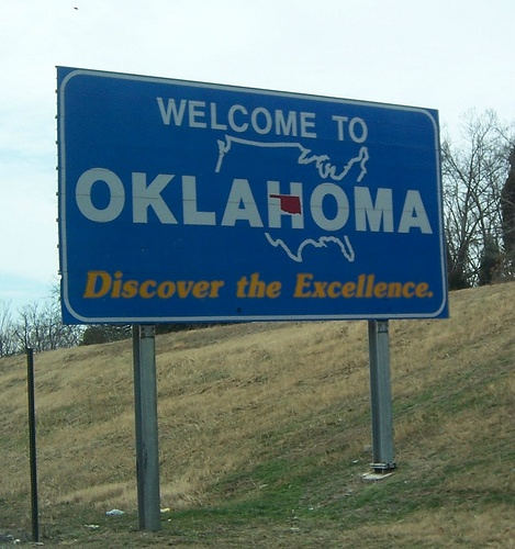 Welcome To Tulsa Sign