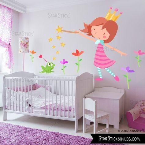 Princesa y el sapo - Vinilos infantiles